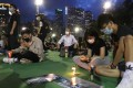 Residents sit in Victoria Park in Causeway Bay on June 4 last year. Photo: Sam Tsang
