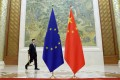 Three of the foreign ministers making the trip to China are from EU member countries. Photo: Reuters