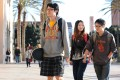 Chinese students at University of Southern California in the United States. Photo: AFP