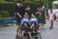 China has scrapped its two-child policy and couples can now have three children. Photo: EPA-EFE