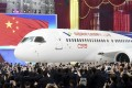 The Chinese C919 passenger jet has been promoted as a rival to planes made by Boeing and Airbus. Photo: Reuters