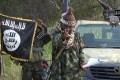 Abubakar Shekau, leader of the Nigerian Islamist extremist group Boko Haram, at an undisclosed location in Nigeria. Photo: AFP