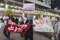 Public opinion has turned against the Tokyo Olympics in light of Japan's increased cases of Covid-19. Photo: AP