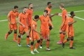 Netherlands progressed to the last-16 with a win against Austria. Photo: Xinhua