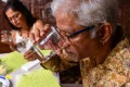 A feni tasting session at Saligao in North Goa. Photo: AFP