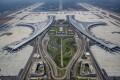 Chengdu Tianfu International Airport welcomed its first passengers on Sunday. Photo: Xinhua