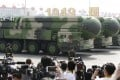 One analyst suggested the silos could be designed for the D-41 intercontinental strategic nuclear missile. Photo: Xinhua
