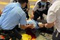 The officer was attacked in Causeway Bay. Photo: SCMP
