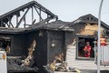Multiple people were killed in a house fire in Chestermere, Alberta, on Friday. Photo: The Canadian Press via AP