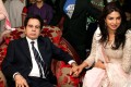 Bollywood icon Dilip Kumar pictured with actress Priyanka Chopra in 2011 during his 89th birthday celebrations in Mumbai. Photo: AFP