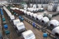 China's state reserves agency auctioned aluminium, copper and zinc early this week. Photo: Reuters
