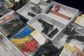 Evidence seized during raids on Monday that foiled an alleged terror plot. Photo: AFP