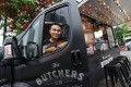 Leo Choi, owner of the Butcher's Club food truck, in Tai Po. Photo: May Tse