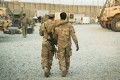 A US soldier and an Afghan interpreter in 2014. File photo: Reuters