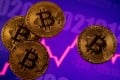 Cryptocurrency trading volumes on Binance reached US$668 billion last month. Photo: Reuters