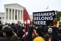 Immigration rights activists hold a rally in front of the US Supreme Court in Washington in 2019. Photo: AFP