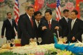 The mechanism was initially launched in 2006 as the US-China Strategic Economic Dialogue before it was upgraded to the US-China Strategic and Economic Dialogue (S&ED) in 2009 by former US president Barack Obama and then Chinese president Hu Jintao, but it was suspended by the Trump administration. Photo: AFP
