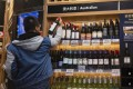 Excluding a huge drop in shipments to mainland China, Australia's wine exports rose by 12 per cent in the 12-month period that ended in June. Photo: EPA-EFE