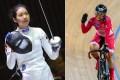 Vivian Kong Man-wai and Sarah Lee Wai-sze are among Hong Kong's medal hopes for the Tokyo Olympic Games. Photo: FIE/CAHK