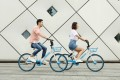 Hello, formerly Hellobike, is one of the biggest bike sharing services in China following a series of mergers in the sector. Photo: Facebook