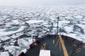A US Coast Guard icebreaker on a mission in the Arctic Ocean. The US considers Arctic operations a deterrent to China. Photo: NOAA via AP