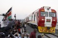Kenya's standard gauge railway is a part of China's Belt and Road Initiative. Photo: AP