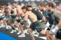 Can Justin Medeiros run away with his first CrossFit Games title? Photo: CrossFit Games