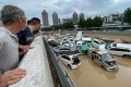 The floods that swept into Zhengzhou last month were deadly and catastrophic. Photo: AFP
