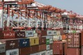 Cargo and container throughput at China's major ports grew strongly in the first half of the year. Photo: Bloomberg