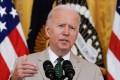 US President Joe Biden at the White House in Washington on Friday. Photo: EPA-EFE