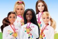 Mattel is facing criticism after it released a collection of Barbie dolls to celebrate the Olympics that do not include a character of East Asian ethnicity. Photo: Handout