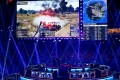 Players are seen on stage at the PUBG Global Invitational, the first official esports tournament for South Korean developer Krafton's hit video game PUBG: Battlegrounds, held in Berlin, Germany, on July 26, 2018. Photo: Reuters