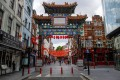 A gateway at an entrance to London's Chinatown district. Photo: Bloomberg