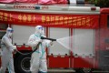 The city of Yangzhou has imposed strict pandemic control measures but infections keep surfacing. Photo: AFP