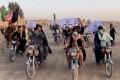 Pen Path has 2,400 volunteers running mobile libraries on motorcycles in Afghanistan. Photo: Handout