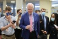 US Senator John Cornyn talks to reporters as he arrives for a vote on Capitol Hill on August 10. Photo: Reuters