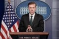 Jake Sullivan, the US national security adviser, during a briefing at the White House on Tuesday. Photo: UPI/Bloomberg