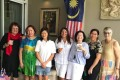 MM2H participant Jules Dinsdale hosts a lunch of other expats from New Zealand, the UK, Australia, Canada and the Philippines to celebrate Malaysia's National Day. Photo: Handout