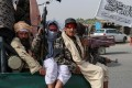Taliban fighters patrol in Kandahar, Afghanistan. Photo: EPA-EFE