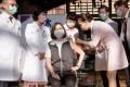 Taiwanese President Tsai Ing-wen receives the vaccine produced by Medigen. Photo: EPA-EFE