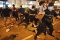 The violent aftermath of a June 4 vigil in Mong Kok last year. Photo: Felix Wong