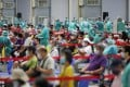 Over 46 per cent of Taiwan's population have received at least one dose of a coronavirus vaccine. Photo: CNA