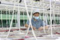China's official manufacturing purchasing managers' index (PMI) fell to 50.1 in August, from 50.4 in July. Photo: AFP