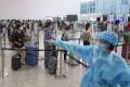 Passengers arrive at Hong Kong International Airport. Photo: Felix Wong