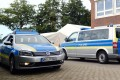 Police vehicles in Germany. File photo: dpa