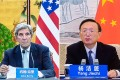 Yang Jiechi, China's top diplomat, was among the officials who held talks on climate change with US envoy John Kerry. Photo: Xinhua