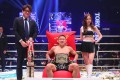 Kyoji Horiguchi celebrates his first-round TKO win over Kai Asakura at Rizin 26. Photos: Rizin Fighting Federation