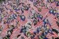 Students wave national flags during Independence Day celebrations in Malaysia. Photo: AP