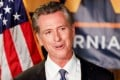 California Governor Gavin Newsom. Photo: Reuters