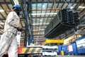 Industrial production rose by 5.3 per cent in August from a year earlier, after a 6.4 per cent rise in July. Photo: AFP
